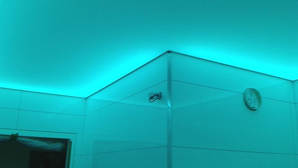 r novation d 39 un plafond lumineux dans une salle de bain brumath. Black Bedroom Furniture Sets. Home Design Ideas