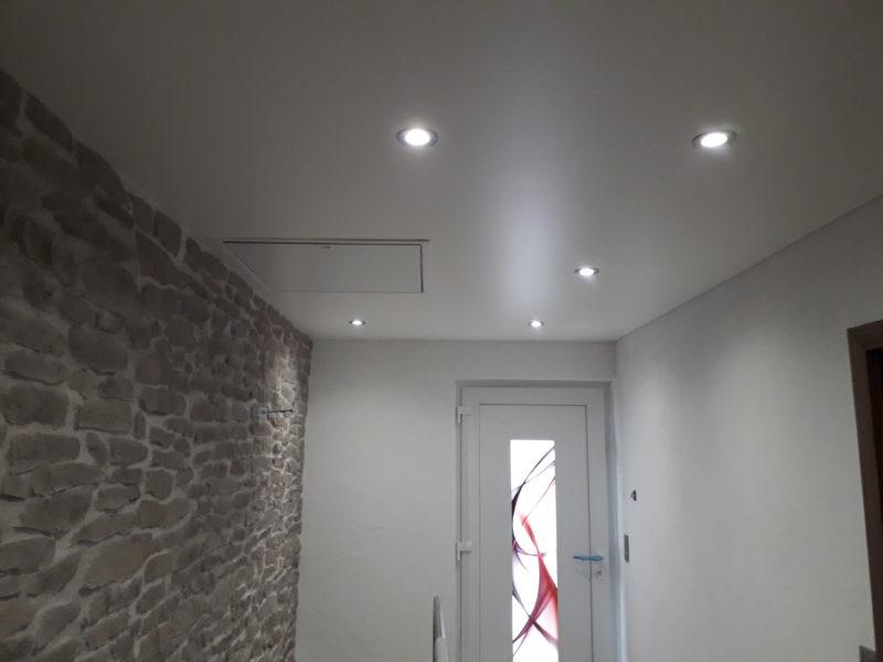 plafond tendu dans un pavillon haguenau plafond tendu lm. Black Bedroom Furniture Sets. Home Design Ideas